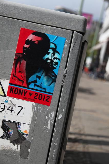 Kony2012 found some followers in Berlin