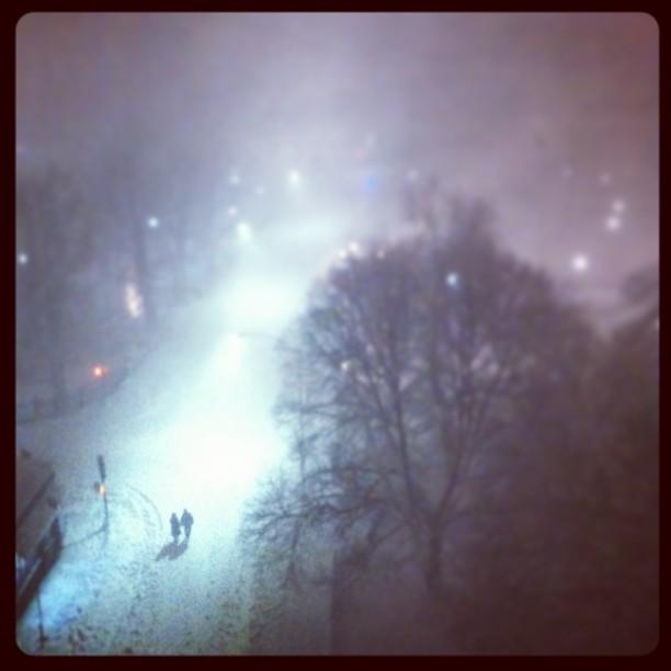 Blizzard in Boston
