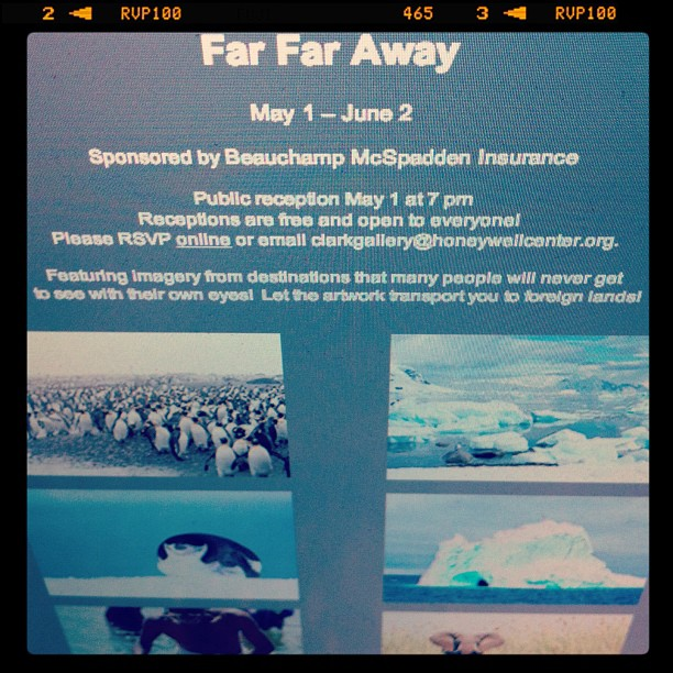 Far Far Away, photo exhibition in Wabash, IN