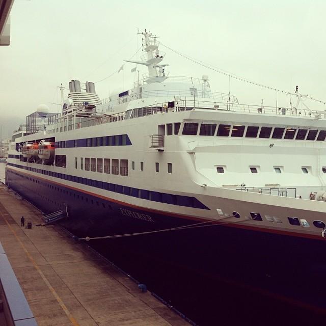 MV Explorer in Kobe, Japan 2014