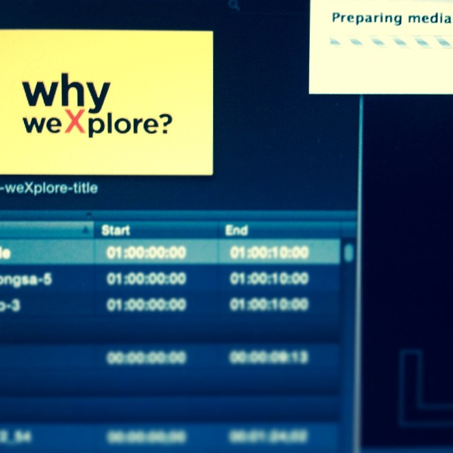 Why weXplore? exporting, filmmaking
