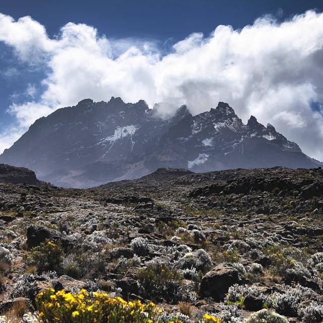 Mawenzi peak on Kilimanjaro, Tanzania