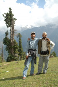 Trekking guide and cook