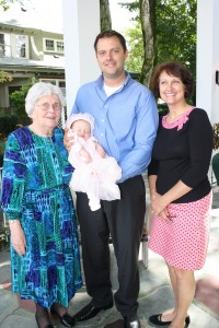 Evelyn, Ian, Olivia, and Margie