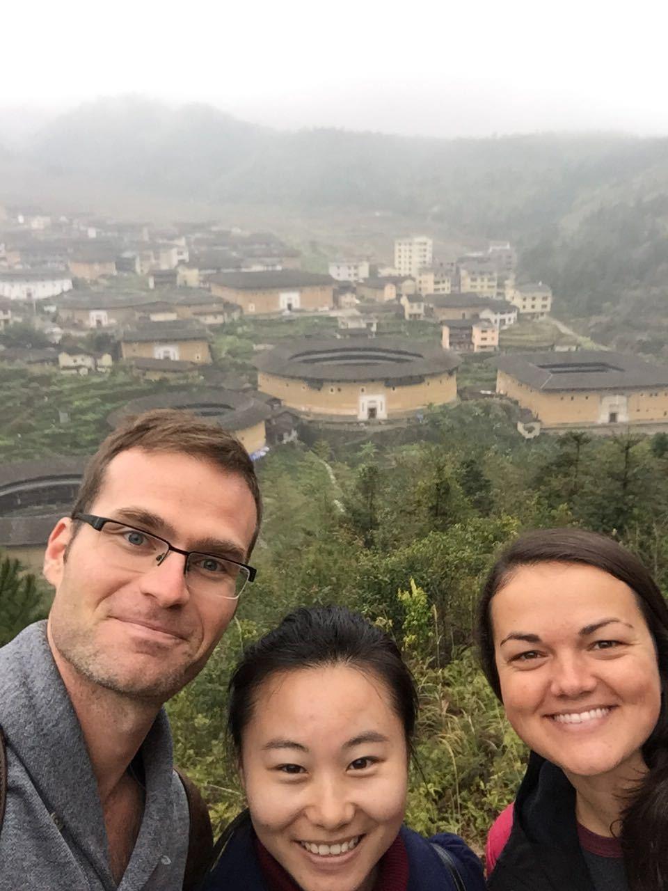 With Morgan and Joy of The Hutong exploring Fuyulou