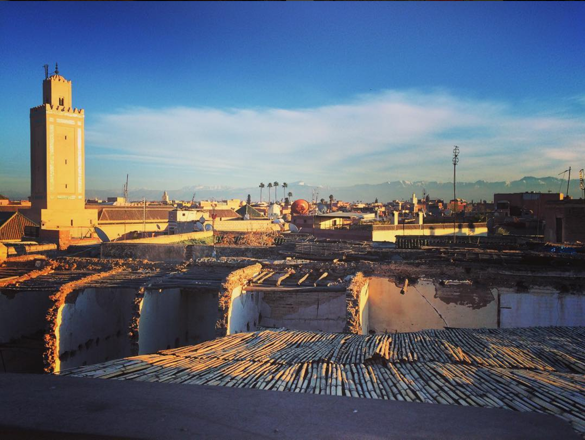 Marrakech from the rooftops