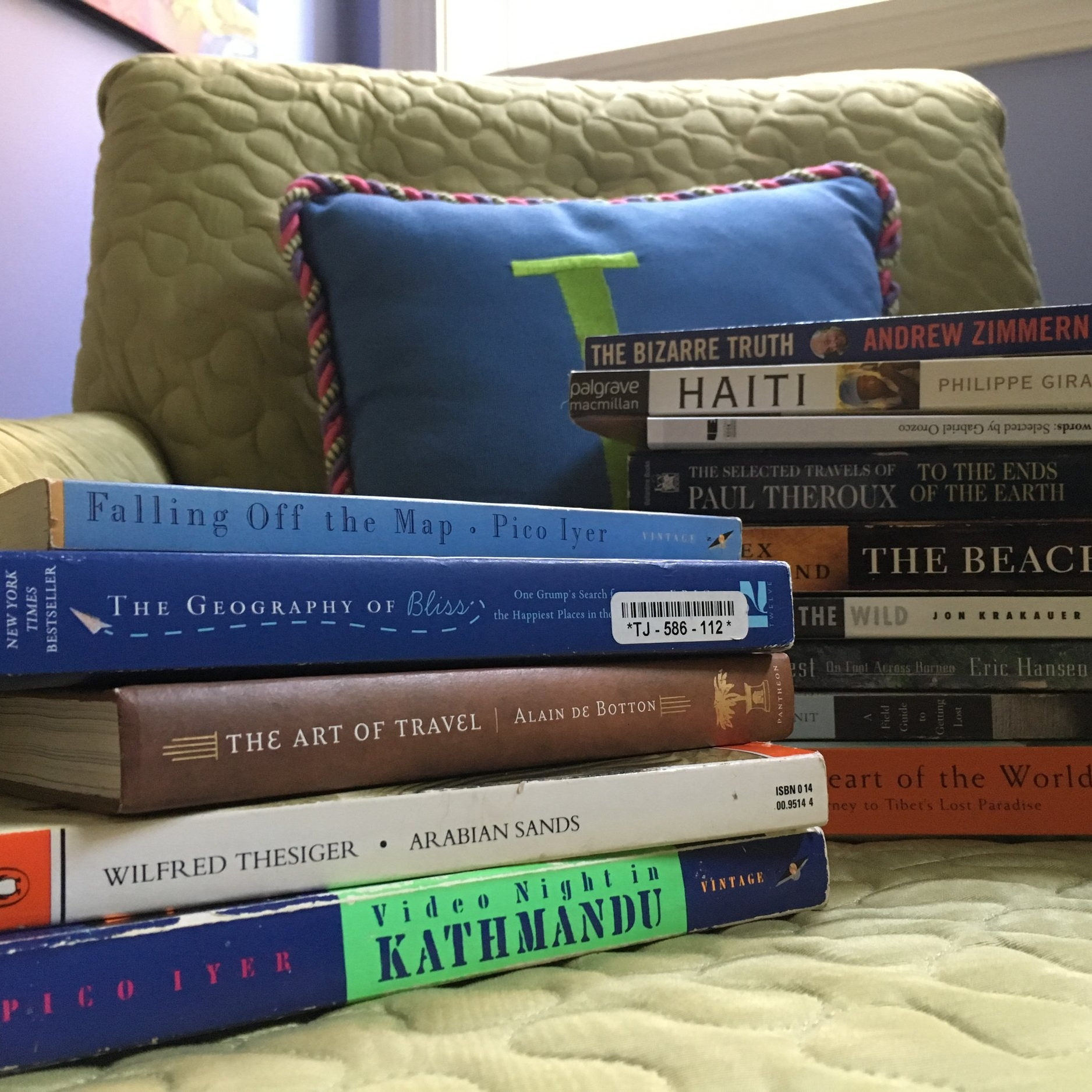 Collecting good travel reads to teach