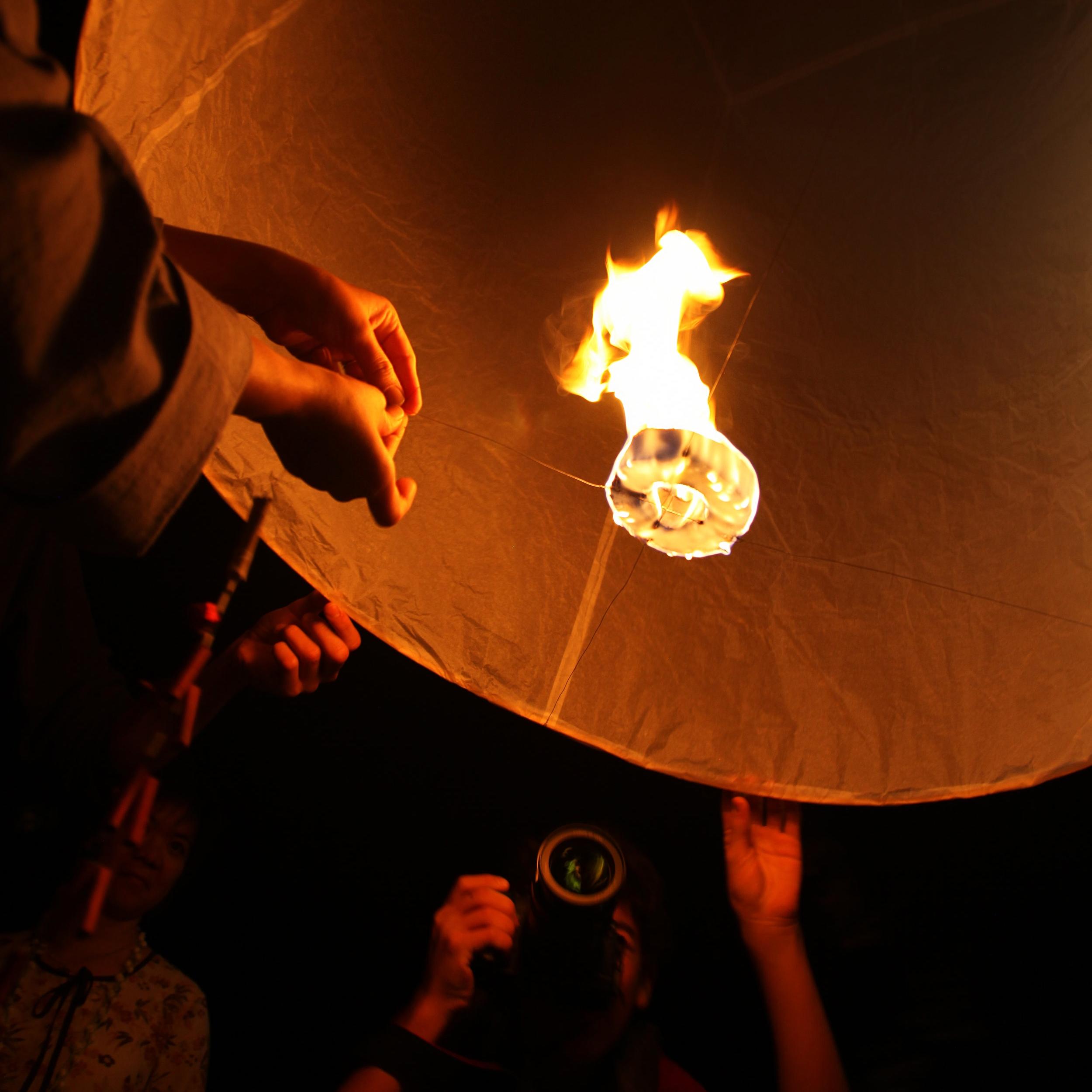 Paper Lantern, Chiang Mai Thailand 2012