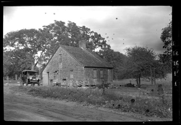 Amagansett/Wainscott, small wood shake house,late 19th or early 20th century.