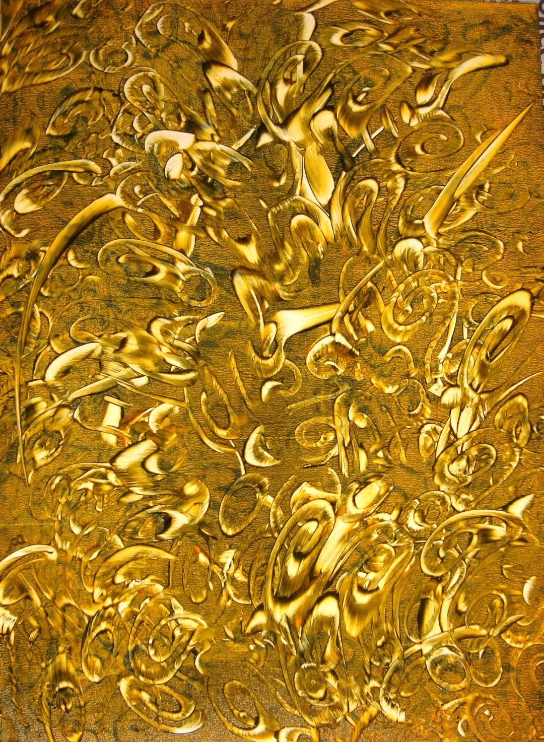 Explosion In Gold