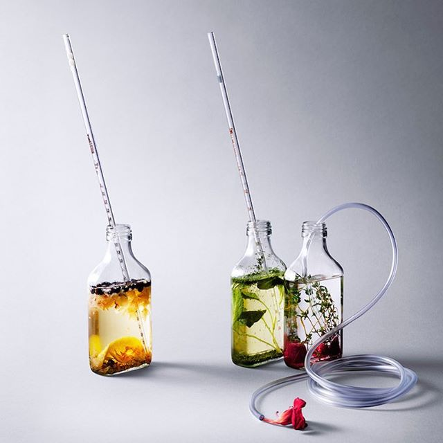 """Drinkspiration """"Nordic Spirits Lab is a laboratory that aims to revolutionise the way we drink - taking the visual aspect of cocktails to another level"""" Marta Knas  @nordicspiritslab"""