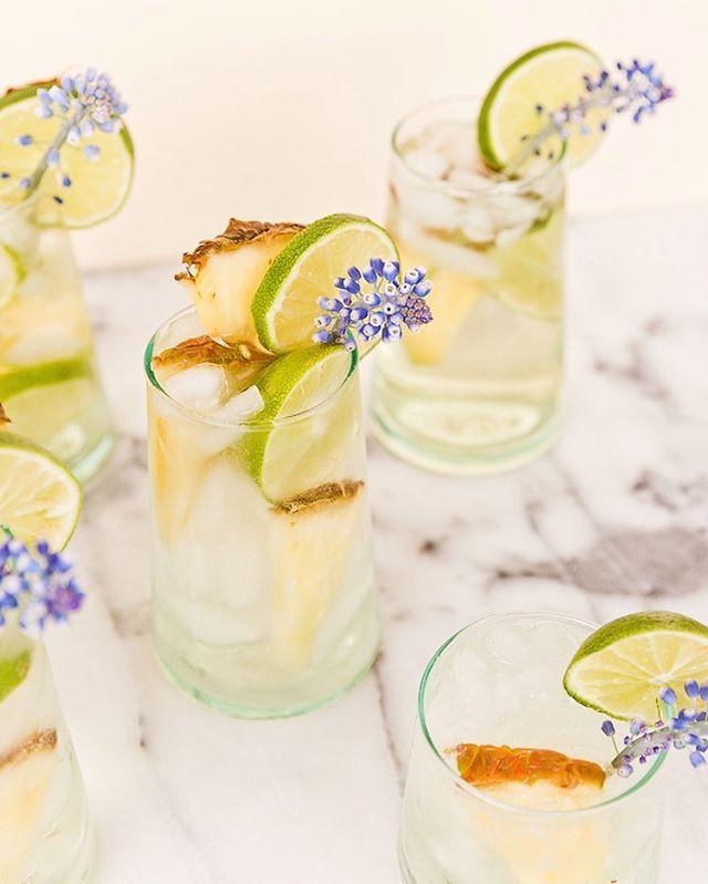 Event Drinkspiration Pineapple lime sangria spritz @sevendaughterswines and Papar & Stitch #cocktials #summer #love #events #concept #bondibeach