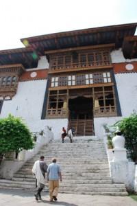 Alicia Morga Punakha Dzong