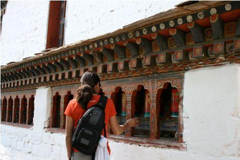 Alicia Morga Bhutan Prayer Wheels