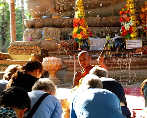 Alicia Morga Cambodia blessing
