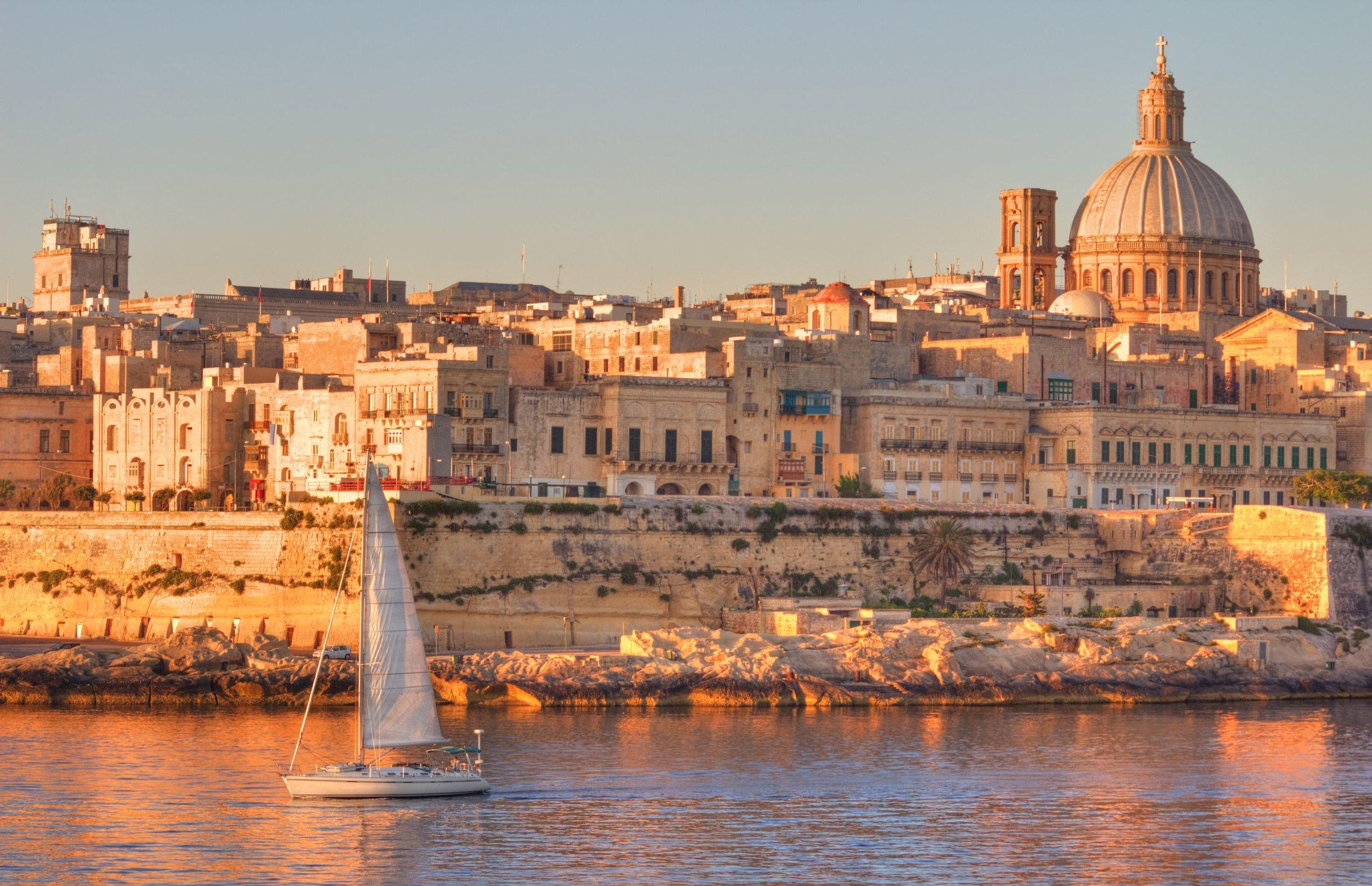 The City of Valletta, Malta
