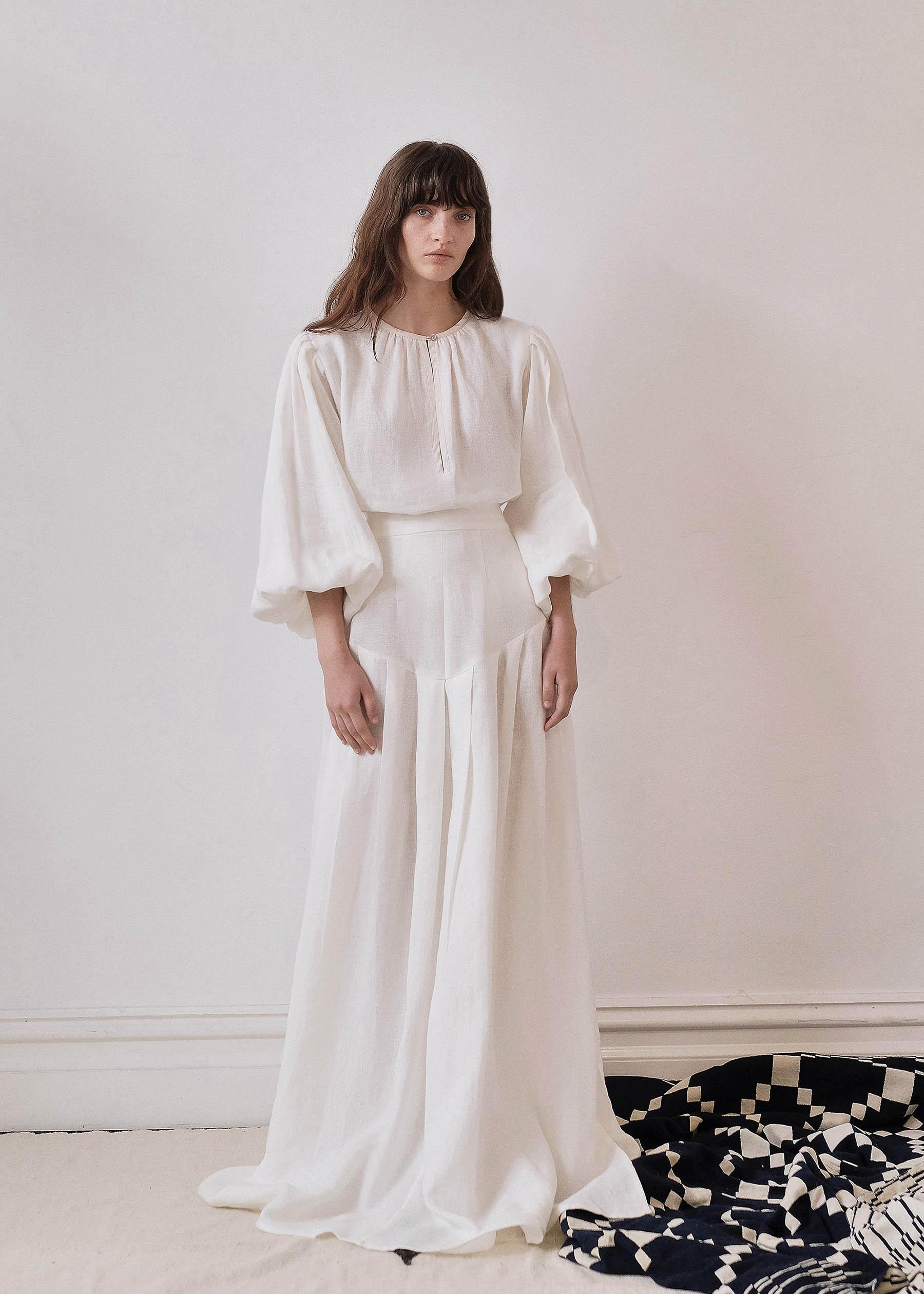 SARAH JANE CLARKE_Russi Skirt_No Frill_White_6 copy.jpg