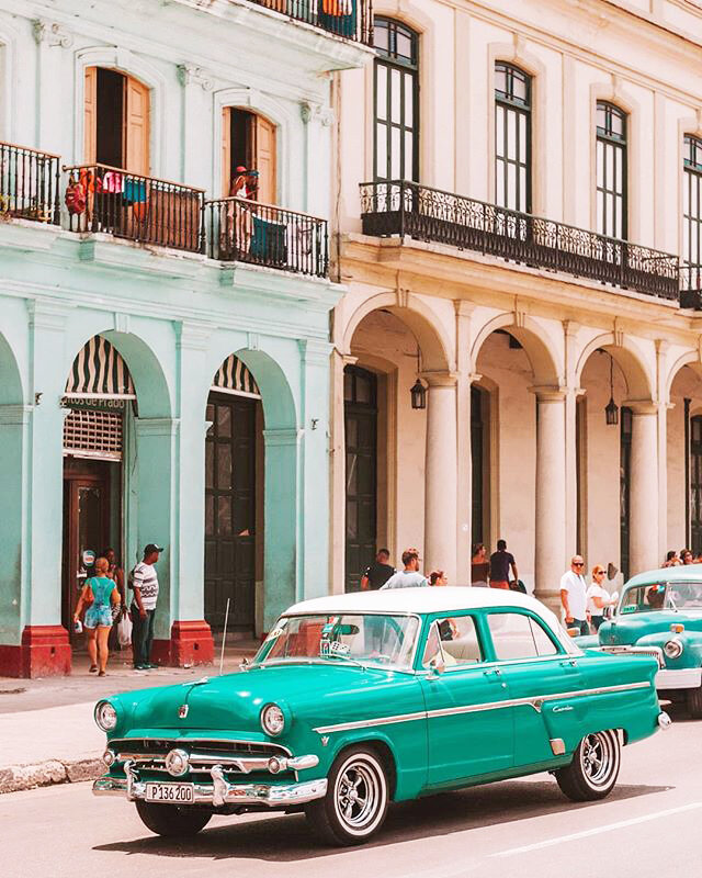 Havana, Cuba. Photo courtesy of Instagram user @shetravelsbarefoot.