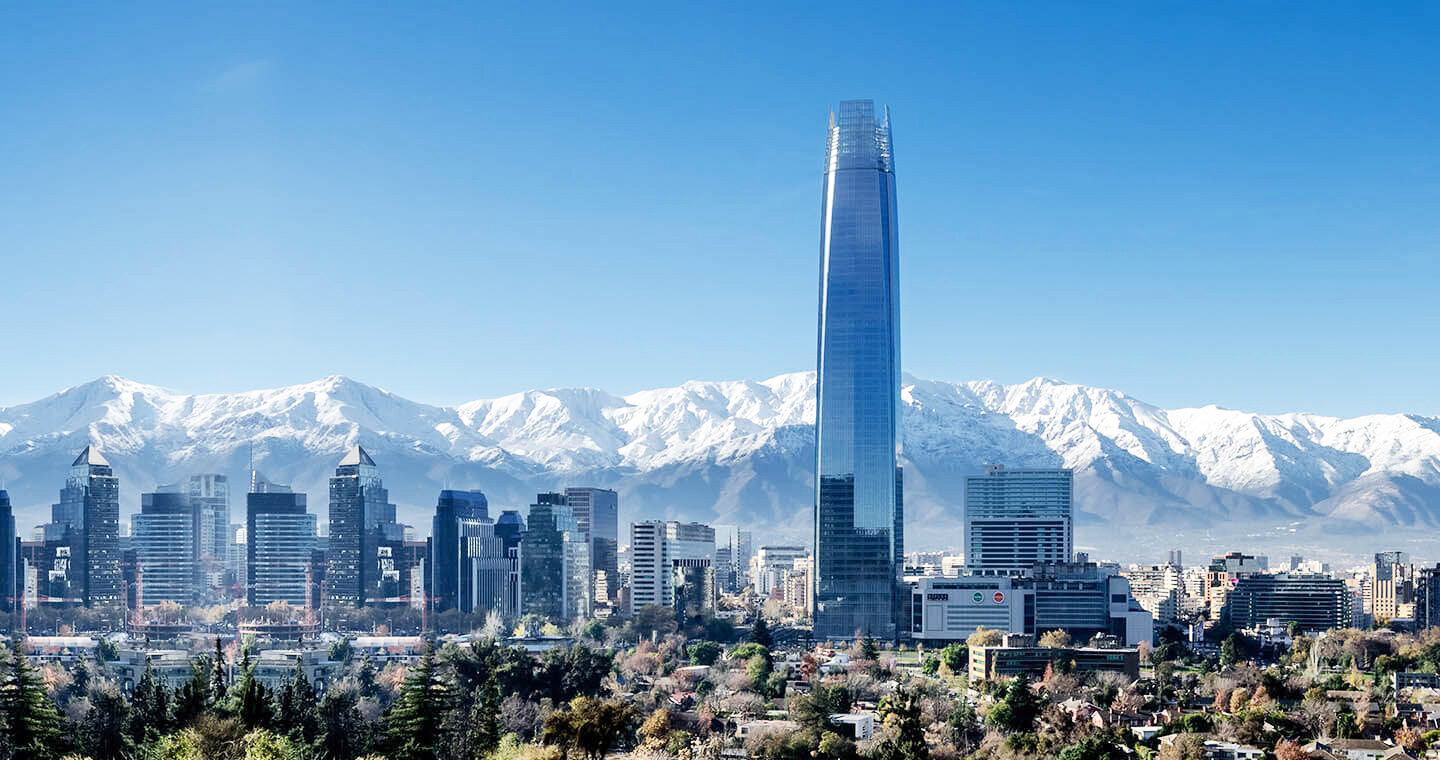 Santiago, Chile. Photo courtesy of    Discover Chile   .