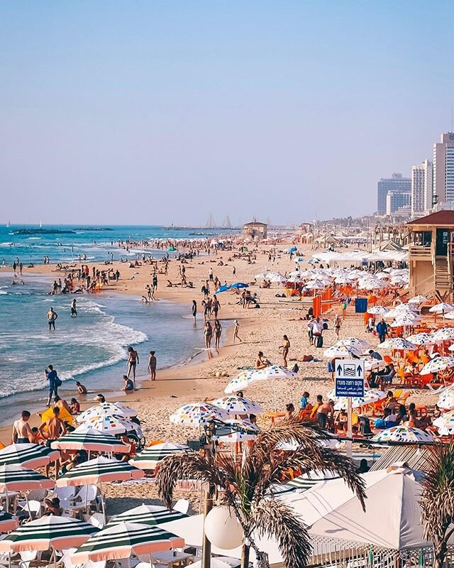 Tel Aviv, Israel. Photo courtesy of Instagram user @itaydubnov.
