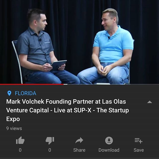 TV interview live from @TheSupX with Mark from Las Olas Venture Capital #investment #founder #ceo #investor #capital #raisingmoney #SupX2019