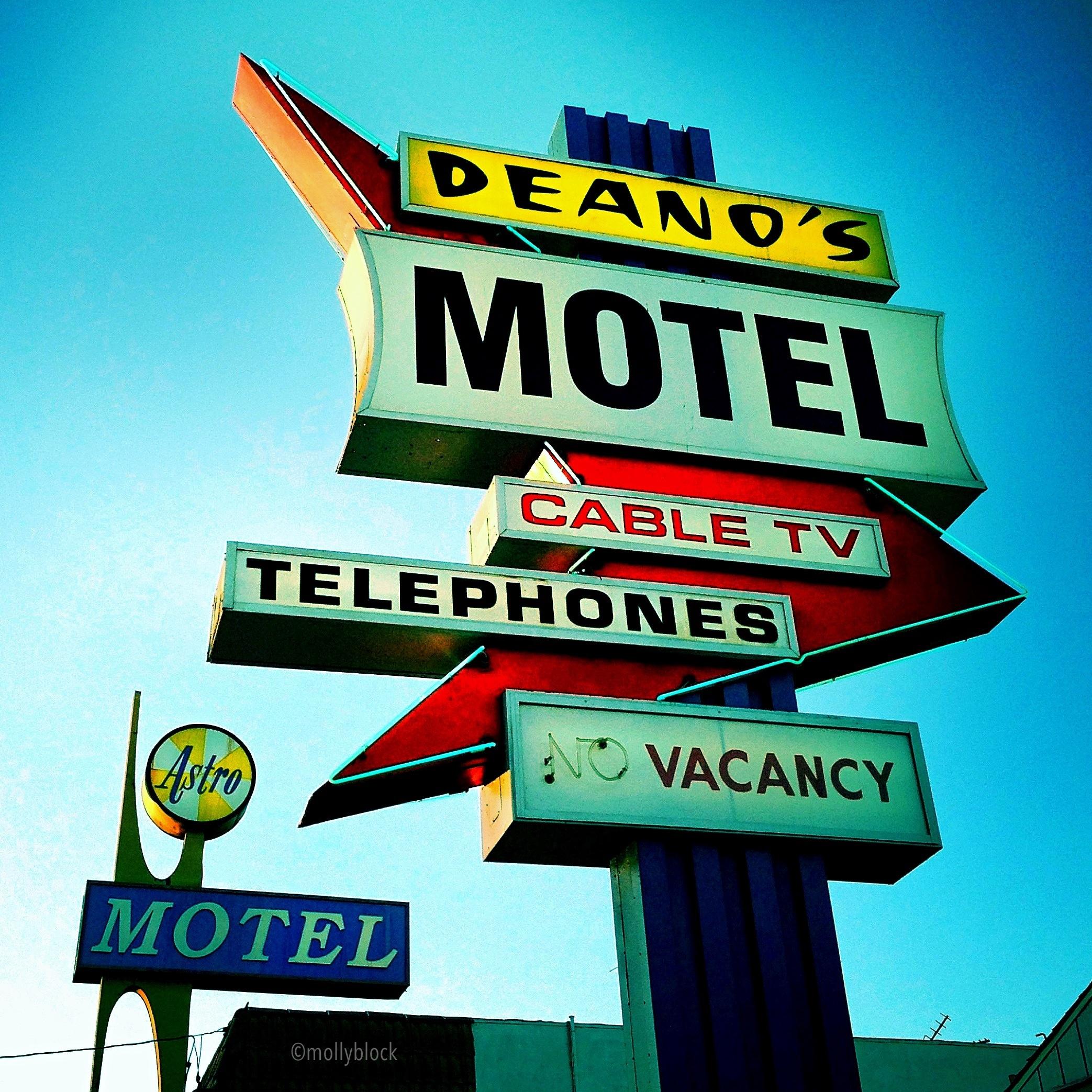 Vintage Motel Signage, 2014