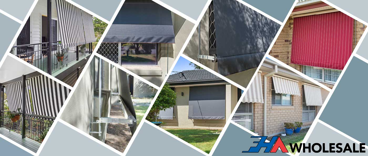 WHOLESALE AUTO ROLL UP AWNINGS