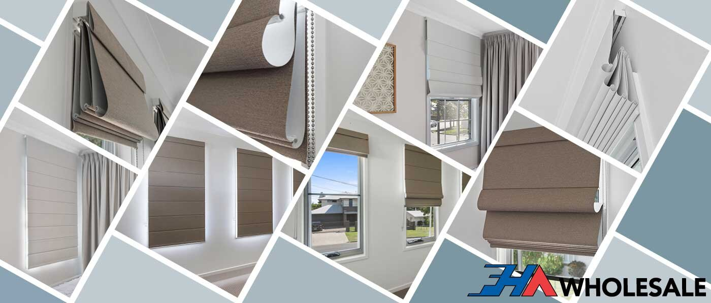 WHOLESALE ROMAN BLINDS BRISBANE