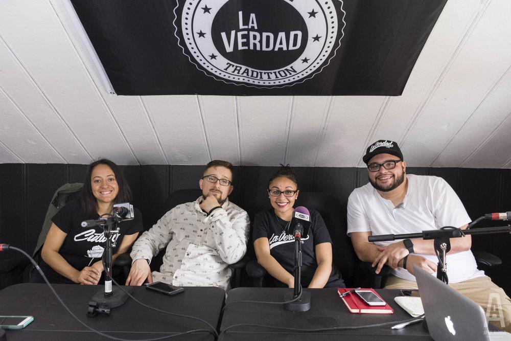 Me & the La Verdad team