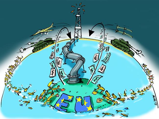 Europäischer Wirtschaftskreislauf