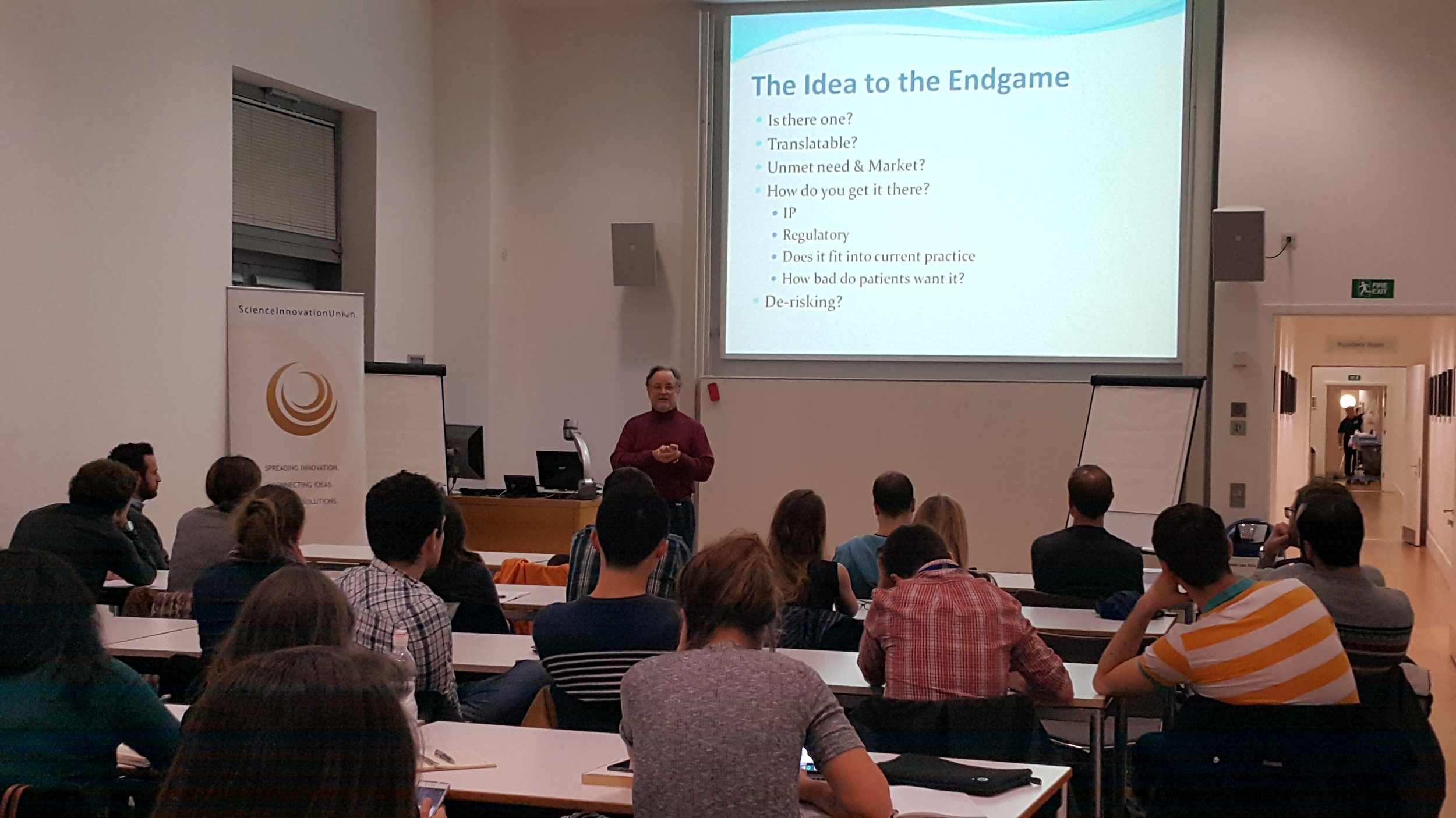 Steven Zimmer's talk at the Sa  ï  d Business School in Oxford on November 15, 2016