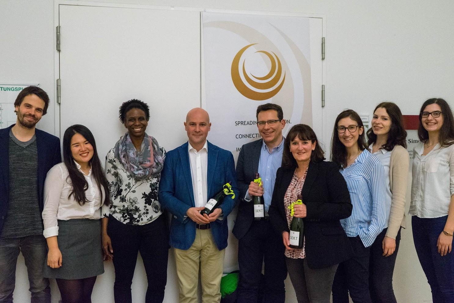 SIU Frankfurt Team and Guest Speakers