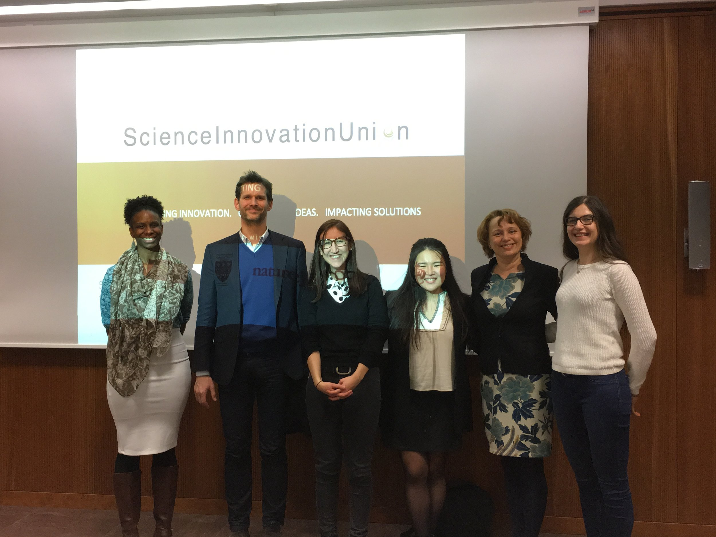 Members of SIUFrankfurt Team with Dr. Björn Rotter and Dr. Dana Ukropcova