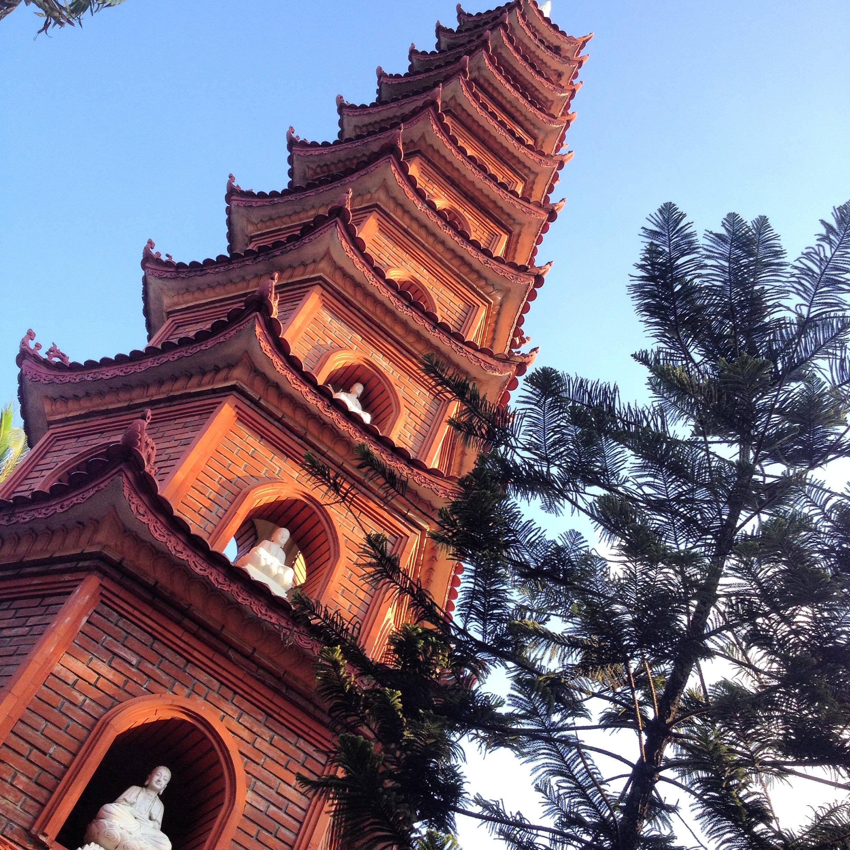 Hanoi - Pagode Tran Quoc - Wonderluhsters