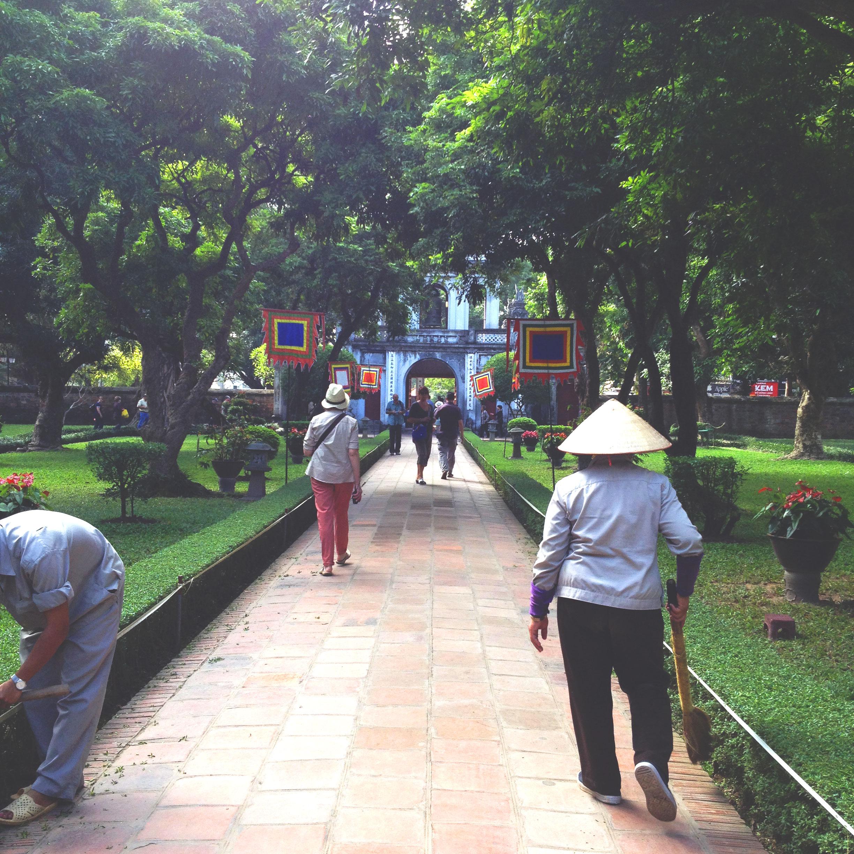Hanoi - Temple de la littérature - Wonderluhsters