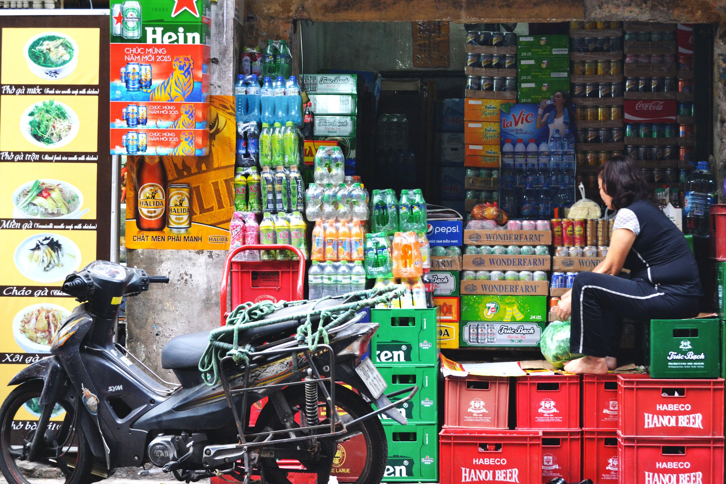 Hanoi - Street - Wonderluhsters