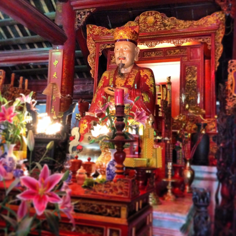 Hanoi - Confucius, Temple de la littérature - Hanoi - Temple de la littérature - Wonderluhsters