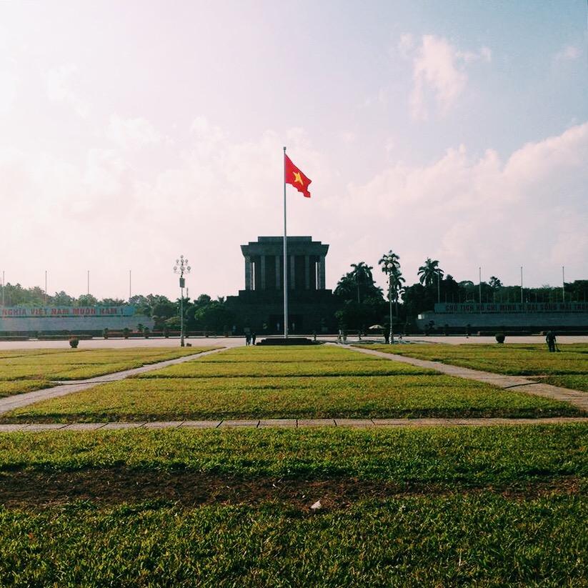 Ho Chi Minh Mausoleum - Wonderluhsters