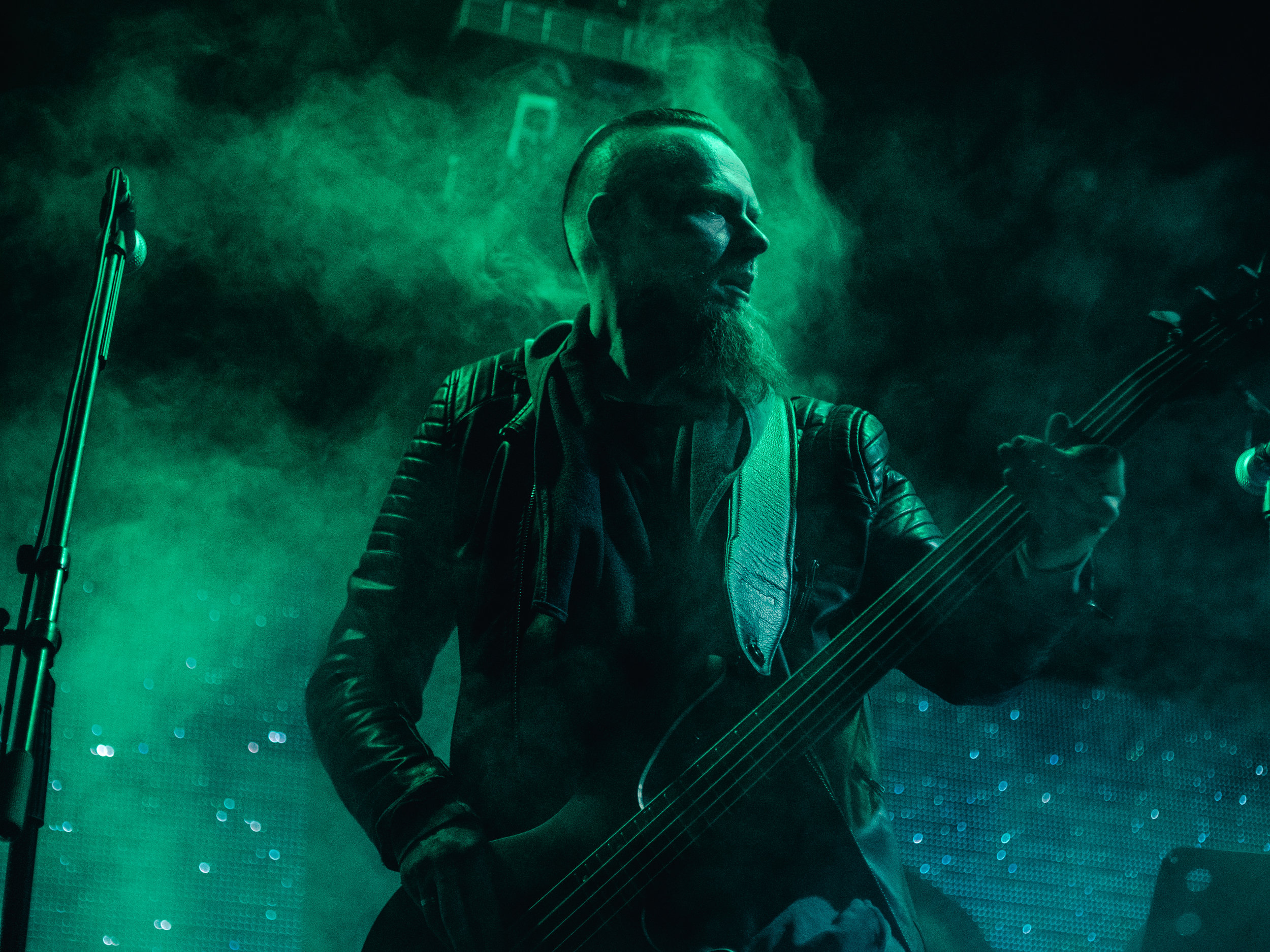 Andris Geiba — bass guitar