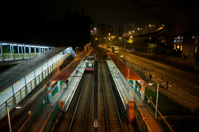 Lung Mun light rail station