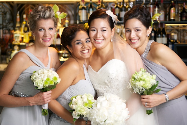 Hong Kong wedding bridesmaids