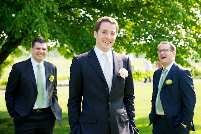 german groom groomsmen group formal portrait