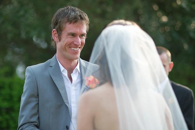 Hong Kong Wedding one-thirtyone groom vows exchange smiling