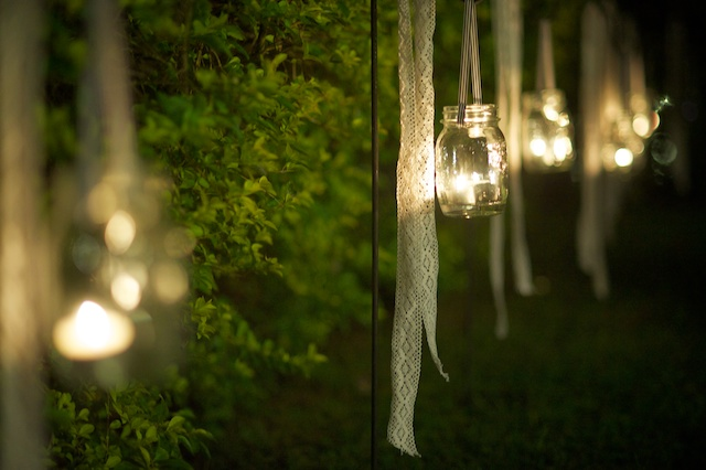 Hong Kong Wedding one-thirtyone outdoor candle light decorations