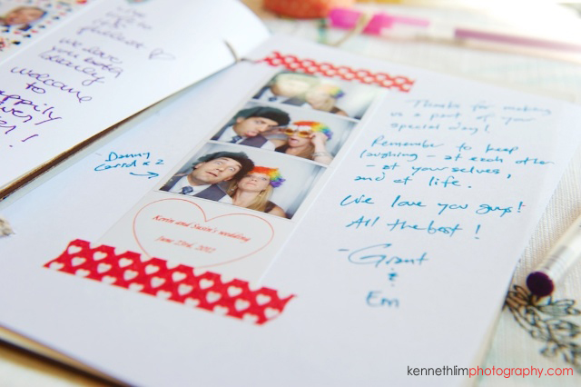 New York wedding outdoor candid details guestbook