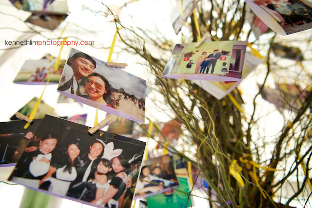 Hong Kong The Verandah wedding outdoor memory tree photos