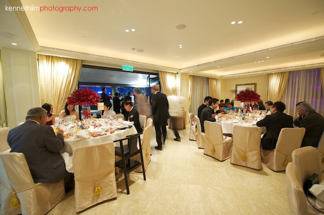 Hong Kong The Peninsula wedding banquet room