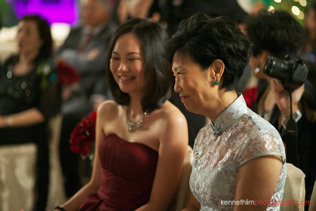 Hong Kong The Peninsula wedding mother of bride smiling