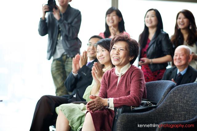 Hong Kong Wooloomooloo Prime wedding mother of groom smiling