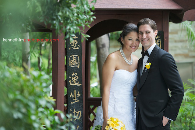 Hong Kong Country Club wedding bride groom portrait session inside gazebo